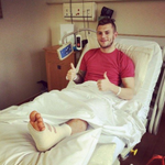 Jack Wilshere out for up to FOUR months after undergoing ankle surgery. Read more: http://t.co/vCuj6QfiIU #afc http://t.co/vHMtxKIIY8