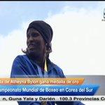 """Atheyna Bylon, Campeona Mundial de Boxeo: """"Le agradesco a @protegeryservir por todo el apoyo que me han dado"""". http://t.co/Y7w1OTucdq"""