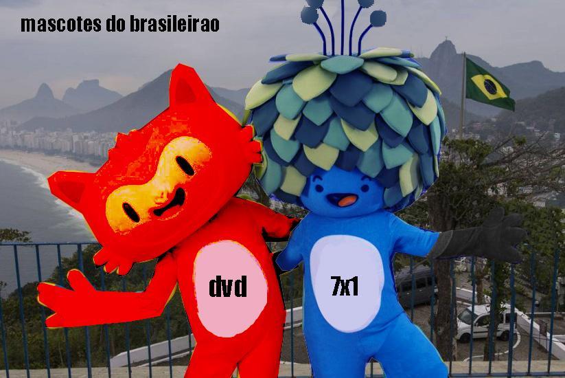 Saíram os mascotes do Brasileirão http://t.co/EnQfNy4oAf