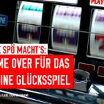 Gerade hat der Wiener Landtag das Aus für das kleine Glücksspiel in Wien beschlossen. #wiengr http://t.co/2ry6ZCpl22