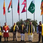 With leaders of SAARC Nations during the retreat earlier today. http://t.co/MtlRuunsY8