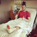 Jack Wilshere has put this on Instagram. Hes facing three months out. find out more http://t.co/qSki052Fdf #afc http://t.co/pqLUTmWt0N