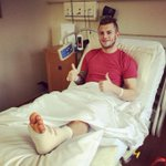 Get well soon Jack Wilshere #Arsenal http://t.co/t8W0wahQzg