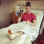 Jack Wilshere - A professional hospital patient whose career has been blighted by appearances for Arsenal. http://t.co/RcUWo0K7wh