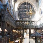 One of the unsung treasures of the North - the beautiful quire of Manchester Cathedral. http://t.co/d9BuY9Dvd3