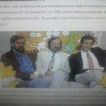 "@DavisZone aqui el generoso ""chuck"" Sam Simon junto a Matt Groening en sus inicios de Los simpsons http://t.co/29HOdEZP2N"