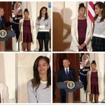 The Obama girls cant even during the turkey pardon. So much side eye in this video. http://t.co/gn0VlYt8Da http://t.co/VJ5SzLk2B7