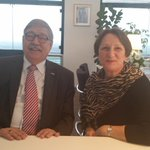Vandaag heeft de wnd burgemeester mevr. mr Kallen van # ijsselstein de eed afgelegd bij de commissaris vd koning http://t.co/ZMOhkmtA8T