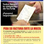 En este Black Friday exige tu factura. Evita la multa #DGI #Panama http://t.co/YdUYfNsoR0