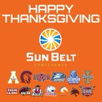 Happy Thanksgiving #FunBelt fans, from our @SunBelt family to yours! http://t.co/1VPF7TwaFA