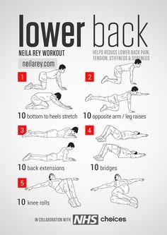 Aquí tienes algunos ejercicios para trabajar la zona baja de la espalda http://t.co/OwHfCzbbsV