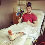 Get Well Soon Jack Wilshere. #Arsenal http://t.co/ESmjvm4OEL