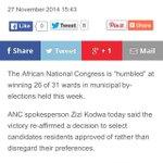 ANC wins again http://t.co/0MPrC1RlPM