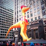 Tap tap tap the dinosaur conductor floats by in @6abcTDP #6abcTDP view from @philachristmas @LOVE_Park http://t.co/a1rlcEjtg8