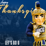 We're thankful for a city that supports us, our fans, athletes & staff. #Thanksgiving #letsgoG @greensborocity http://t.co/vgLMvtW0BW