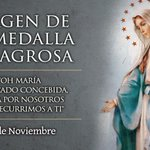 Hoy es la Fiesta de la Virgen de la Medalla Milagrosa http://t.co/rsrdIZemWa http://t.co/1Ecpq9P4r1