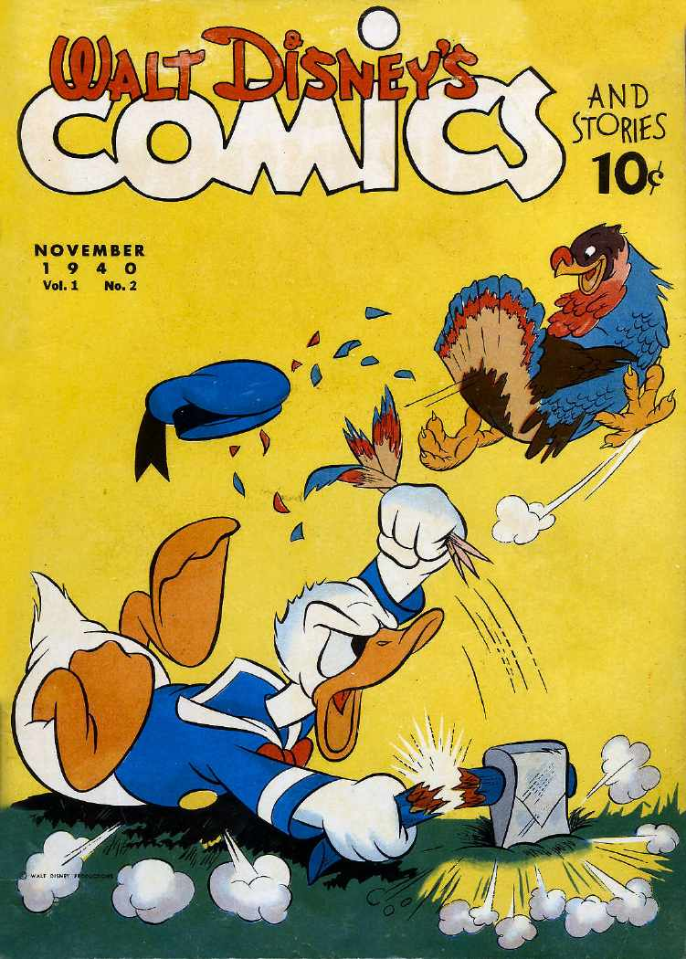 Tom Spurgeon (@comicsreporter): happy thanksgiving and remember what donald duck teaches us: 100 percent commitment in every scene -- http://t.co/MaRwyAVNqz