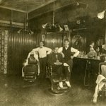 As end of #Movember beckons, @KitchLibrary #GSR image of a soon to be busy place- the #barbershop #throwbackthursday http://t.co/7cnHymRt44