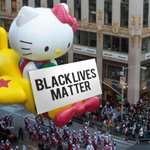 Meanwhile in New York, Hello Kitty balloon #StopTheParade via @3r1nG http://t.co/X7or3Tjzk7