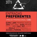 CONCURSAZO! ¿Quién quiere ser VIP? RT y participa. Sorteamos dos entradas VIP #MWF2015. #YoQuiero #InWinterWeTrust 🆓 http://t.co/3ebWJSAdcb