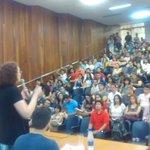 Ótimo evento na UFG em Goiânia! Obrigada a todos e todas! http://t.co/qtibRADEty