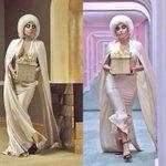 «Hier à Bercy, aujourd'hui star de la campagne de Noël de H&M, Lady Gaga est sur tous les fronts.» – ELLE http://t.co/GxouUEnpQT