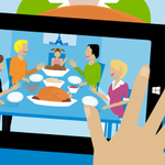 A few things were thankful for: family, food and wifi. #HappyThanksgiving http://t.co/kpssNEn0Xr