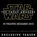 RT @iTunesMovies: Thankful for this day and for what @iTunesTrailers is bringing us tomorrow #StarWars #TheForceAwakens #Teaser http://t.co…