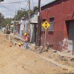 Estimado automovilista disculpe las molestias, SAPAO realiza obras de red hidráulica en División Oriente. #Oaxaca http://t.co/xRqXa41lMG