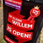 De posters hangen... door heel Enschede! De Kleine Willem is open http://t.co/FNv4LD1hI0