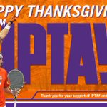 Happy Thanksgiving, Tiger Nation! We hope that everyone has a safe and enjoyable holiday! #IPTAY #SoildOrange http://t.co/UJ4ZDvDVUd