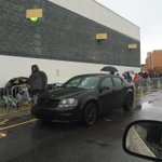 Thanksgiving #BlackFriday shoppers are hoping for drier weather @WFMY @wfmyweather http://t.co/091ss3cvIR