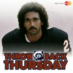 11/27/80 David Williams returns OT kickoff for TD, #Bears beat Lions 23-17. Must have been the hair. #TBT @MasterCard http://t.co/RcEfOoH4he