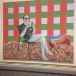 #JulesDeelder vandaag burgemeester van #Rotterdam. Op de kamer van #D66 is hij dat al jaren #artbyMarindeJong http://t.co/qFr59lAnQg