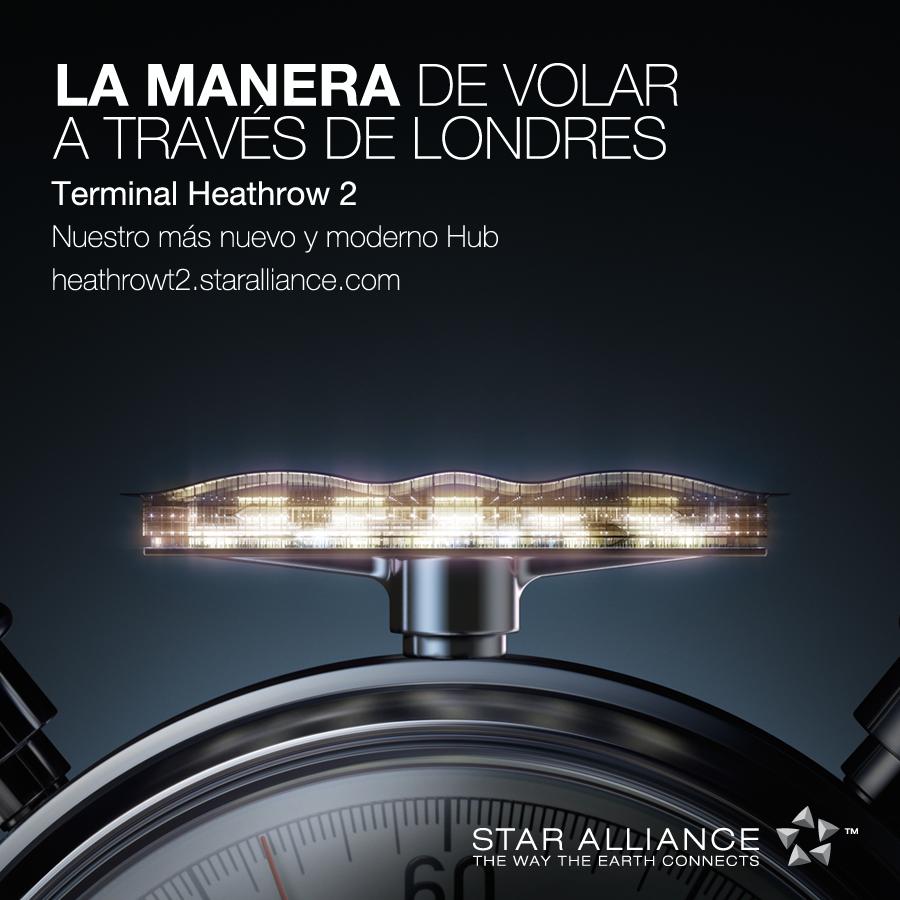 LAMANERA de realizar conexiones más rápidas donde 23 aerolíneas @staralliance trabajan juntas