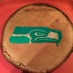 #Thanksgiving pumpkin pie... @Seahawks style!!Now lets just win that game... http://t.co/bmp6VpXoDt