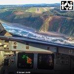 PRECIOSA APROXIMACIÓN EN ASTURIAS por @ismaeljorda esta misma tarde en vuelo de @Iberia #asturias #landing http://t.co/Oftnl55sn0