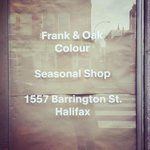 Our first #FrankandOakColour shop will be open in #Halifax this Saturday at 10am. Come visit us at 1557 Barrington St http://t.co/gv1u0WXfMP