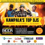 @djapeman @DjAludah @DJ_crisio Uganda Museum is the place where we are going to write #History @KampalaBeerFest http://t.co/sPyw7EtwYX
