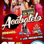 Nos vemos HOY #Matamoros 5:30pm en VIVO en #SenderoMatamoros @multimediostv #Acabatelo ????????????????????!! http://t.co/HM1OhagSDC