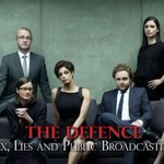 This group photo of #JianGhomeshi s legal team is … strange. I love that someone made it into an HBO billboard, tho. http://t.co/rKcHtTNXPh