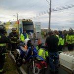 Ruta U40 / La Mision. Camioneta choca con motociclista e lesionado #osorno http://t.co/QZJfIGRQLE