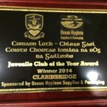 Galway juvenile hurling club of the year 2014 #upthebridge #gaa #Galway @GalwayHurling @TribesmenGAA #welldonelads http://t.co/SRGOyH4GIL