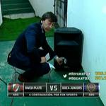Boca Juniors, juega de visitante y sin su gente, para eso estos parlantes en el túnel para salir a la cancha. http://t.co/0NDYR0dQsc