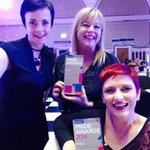 Well done, ladies! > MT @HelenBissett: sitting next to at PRIDE awards @jacquigbythesea bringing awards back to #Hull http://t.co/2lykQndgmQ
