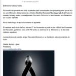 Enviamos nuestras condolencias a nuestro amigo @ReynaldoEkonomo por la pérdida de su padre Q.D.D.G.  @glalocal http://t.co/lfdW6nZPRf