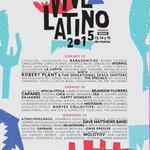 #vivelatino 2015 Elenco http://t.co/ctwLYf3Gbp