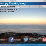 Happy #Thanksgiving from the #Anchorage @NWS office team to your family! #AKwx http://t.co/mz487AlVyC