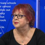 Jo Brand doesnt agree that private schools are doing enough to merit their charitable status. #bbcqt http://t.co/dFvA0w4xwc