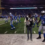 On the field wit it! FFOE #Lions http://t.co/79b2rkhOJo